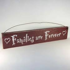 families are forever country home decor wood signs made in the