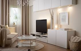 salas living room wall units ideias para sala sala ikea pinteres