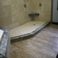 Black Travertine Laminate Flooring Bathroom Contempo Picture Of Rustic Bathroom Decoration Using