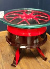 race car rim made into table for sale on etsy for 500 mpc