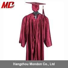 buy cap and gown kindergarten graduation cap and gown shiny maroon buy