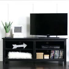 media console with glass doors distressed black tv stand wood media storage console corner full