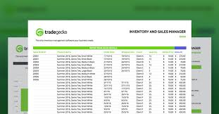 Excel Templates For Inventory Management Free Inventory Spreadsheet Tradegecko