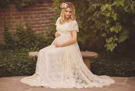 maternity photo props aliexpress buy le maternity gown photography props