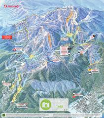 Breckenridge Ski Map California Nevada Ski Resorts