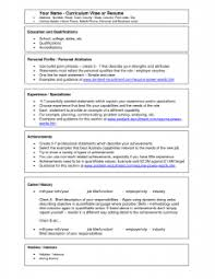 resume examples word document resume template free templates