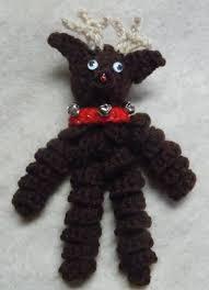 reindeer ornaments crochet pattern