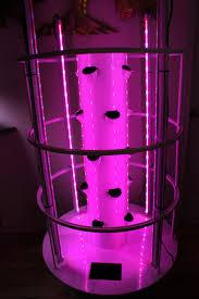 pink light aeroponics aeroponic indoor tower garden setup using