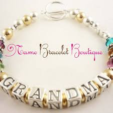 mothers day bracelet mothers day bracelet grandmother from namebracelets on