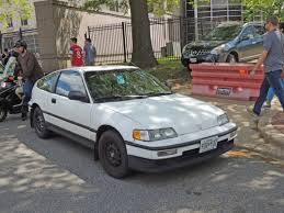 curbside classic 1990 honda crx hf u2013 i was green when green wasn