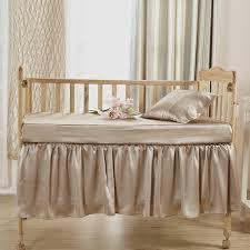 Crib Bed Set Buy 100 Soft Silk Crib Bedding Set In Lilysilk