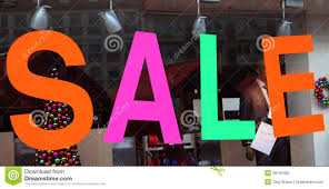 sale window display stock photography image 28740482