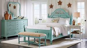 cindy crawford bedroom set cindy crawford home seaside blue green low poster 7 pc queen bedroom