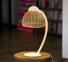 le de bureau led design le à poser dome led h42cm studio cheha contemporary table