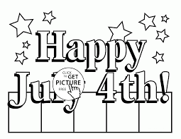 free printable black and white 4th of july coloring pages for kids