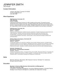 Resume Samples Normal by Server Job Description Resume Sample Bar Supervisor Resume Server