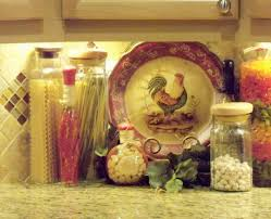 kitchen fascinating rooster decorations for kitchen and