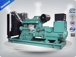 superlative performance electric power diesel generator set
