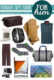 s gifts for men gift guide for him how sweet eats
