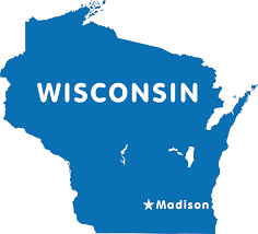 Maps Of Wisconsin by Wisconsin Map Blank Political Wisconsin Map With Cities