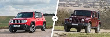 suzuki jeep 2016 jeep renegade vs wrangler which is best carwow