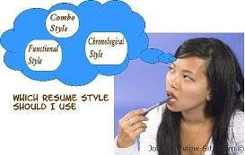 resume styles is your resume style up to the challenge