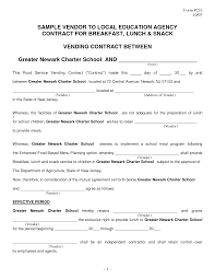 Sample Vendor Contract Template 9 100 Vendor Contract Agreement Template How Smart Contracts