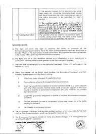 Letter Of Credit Validity bank sanction letter