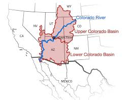 Map Of Colorado River by Part 3 Explore The Colorado River Basin