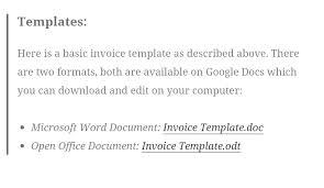 6 musician invoice template af templates