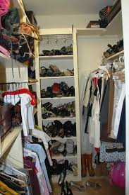 clever design how to organize shoes in a small closet simple ideas