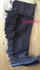 minnetonka womens boots size 11 size 11 boots fringe for ebay