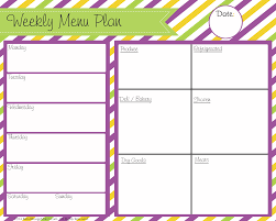blank menu templates free blank menu planner expin franklinfire co