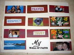wall of faith craft project