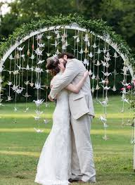 japanese wedding arches 9 stunning exles of wedding origami