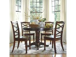 ashley furniture porter 5 piece round dining table set coconis