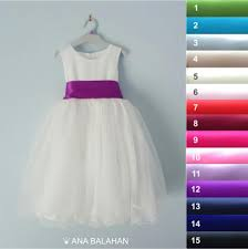 flower dress white wedding junior bridesmaid easter dress