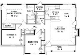 2 bedroom ranch house plans ranch house floor plans open plan 2 bedroom house plans with open