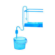 aquarium fish tank siphon gravel manual cleaner pump safe vacuum