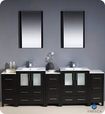 84 inch double sink bathroom vanities 84 fresca torino fvn62 72es uns modern double sink bathroom