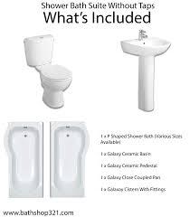 100 p shaped shower bath suites winchester suite with rh p shaped shower bath suites shower bath suite without taps bathshop321