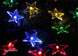 bright star led christmas lights led holiday decorative bright star string outdoor solar christmas