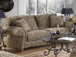 Leather And Tapestry Sofa Faux Leather Living Room Set Throughout Tapestry Sofa Living Room
