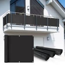 balkon abdeckung pvc balkon sichtschutz sichtschutzfolie anthratzit 6x0 75m