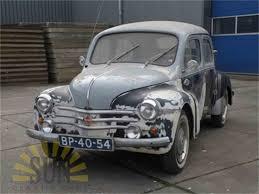 vintage renault cars 1960 renault 4cv for sale classiccars com cc 1009295