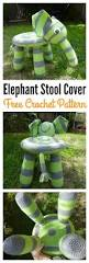 Round Bar Stool Covers Best 25 Stool Covers Ideas On Pinterest Stool Cover Crochet