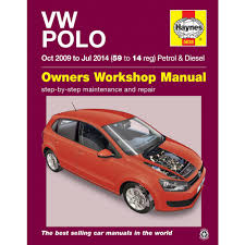 vw polo 1 2 1 4 petrol 1 2 1 6 diesel 2009 2014 haynes workshop
