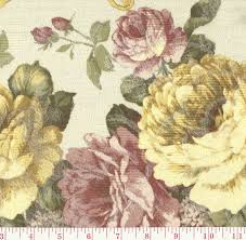 Pink Home Decor Fabric Broyhill Green Pink Vintage Inspired Rose Floral Jacquard Culp