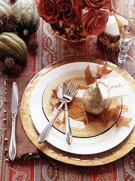 ideas for thanksgiving table place settings divascuisine