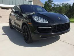 Porsche Cayenne Headlights - wtb cayenne 958 black headlights and black tail lights rennlist